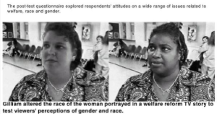 "Left: Welfare recipient. Right: A leech on society's ""job-creators"""